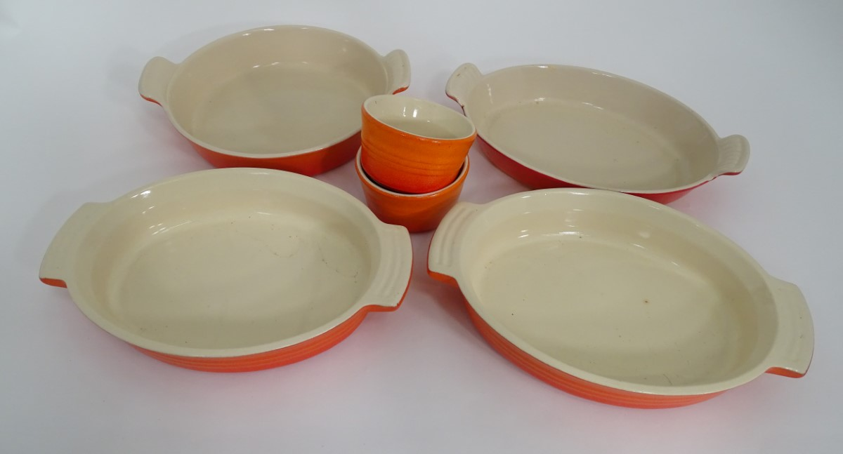Lot 40 - Six items of Le Creuset cast iron wares (6) CONDITION: Please Note - we do not