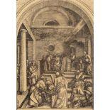 """Albrecht Dürer (1471-1528), """"Le Christ et le scribe"""", c.1503"""