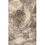 """Albrecht Dürer (1471-1528), """"Le Christ au Mont des Oliviers"""" ou """"L'Agonie au Jardin [...]"""