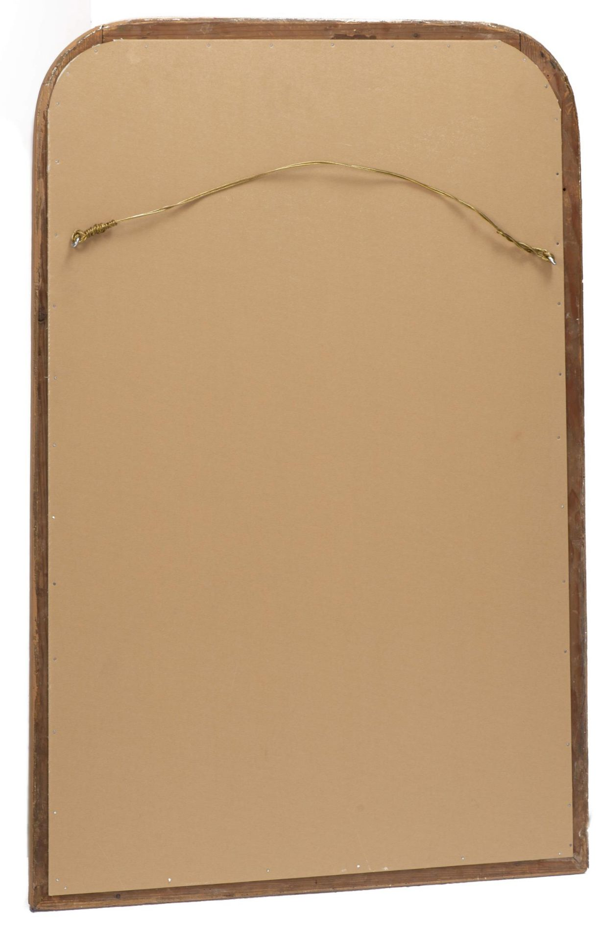 Miroir vertical à cadre en stuc doré d'époque Louis-Philippe - Bild 4 aus 4