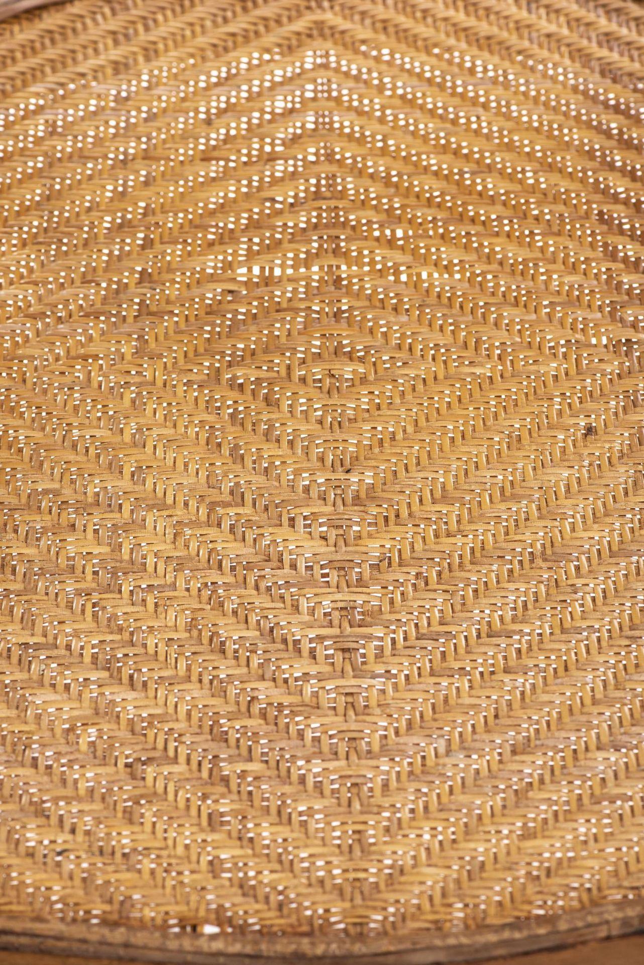Deux fauteuils et une banquette balinais en Suar teck - Bild 2 aus 15