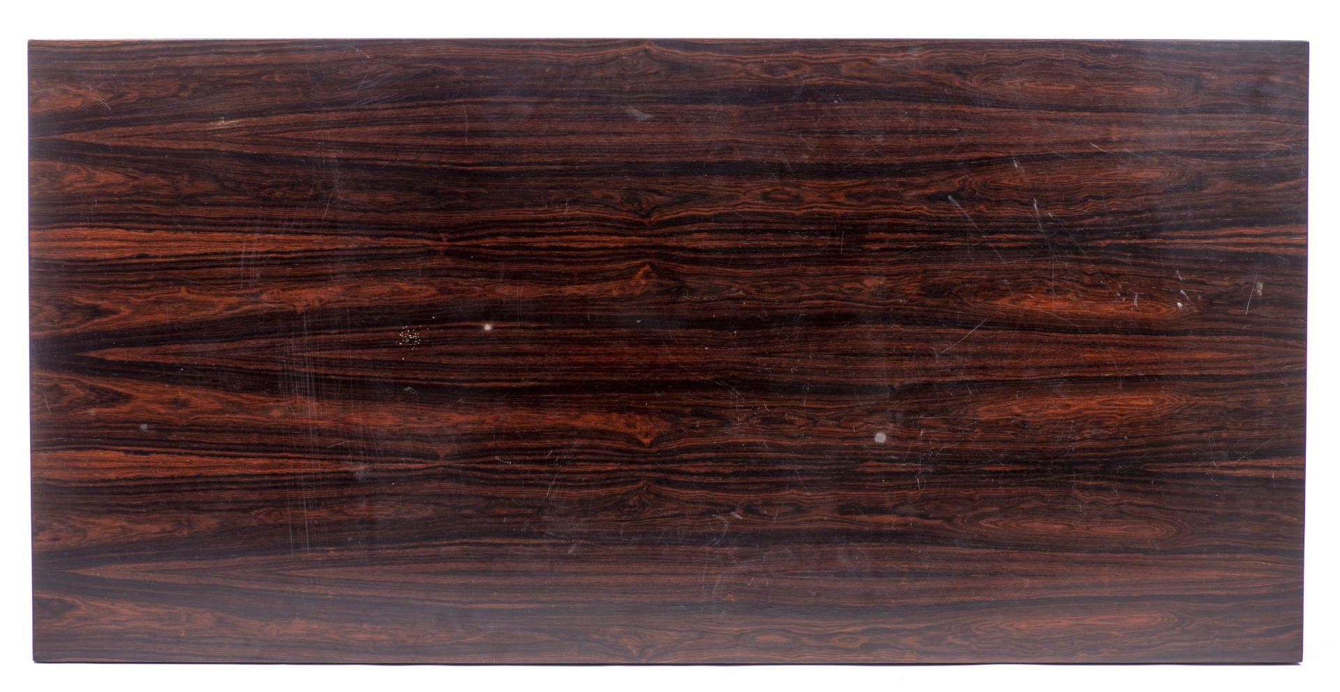 Table basse rectangulaire en teck par Fa. Ole Olsson & Son à Glostrup - Bild 3 aus 4