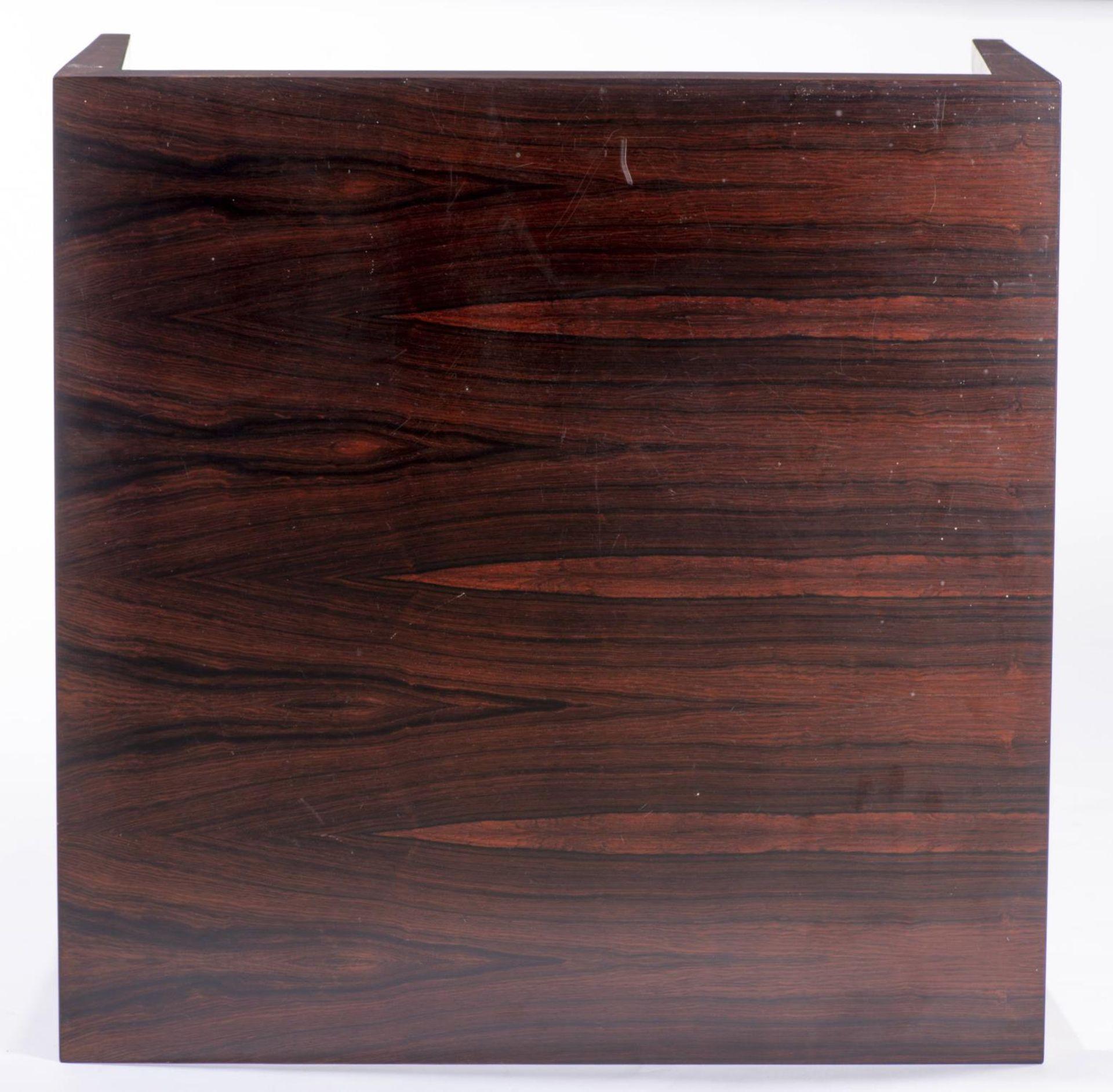 Table basse carrée en teck par Haslev Mobelsnedkeri A/S DK Haslev Fa. Ole Olsson & Son - Bild 3 aus 4