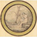 "Anonyme XVIIIe, ""La sortie du bain"""
