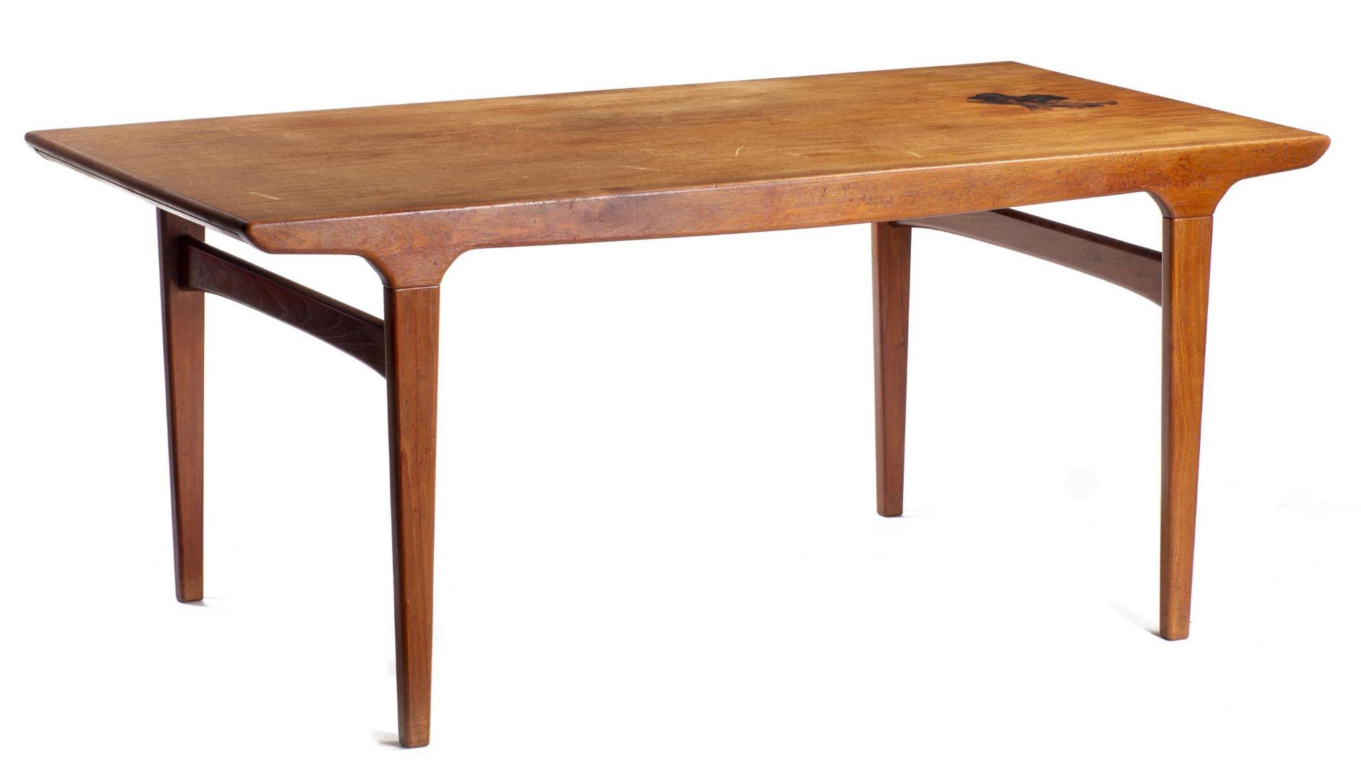 Table en teck, probablement Hans Wegner Design - Bild 2 aus 5