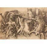 """Andrea Mantegna (1431-1506) d'après, """"Batailles des Dieux marins"""""""