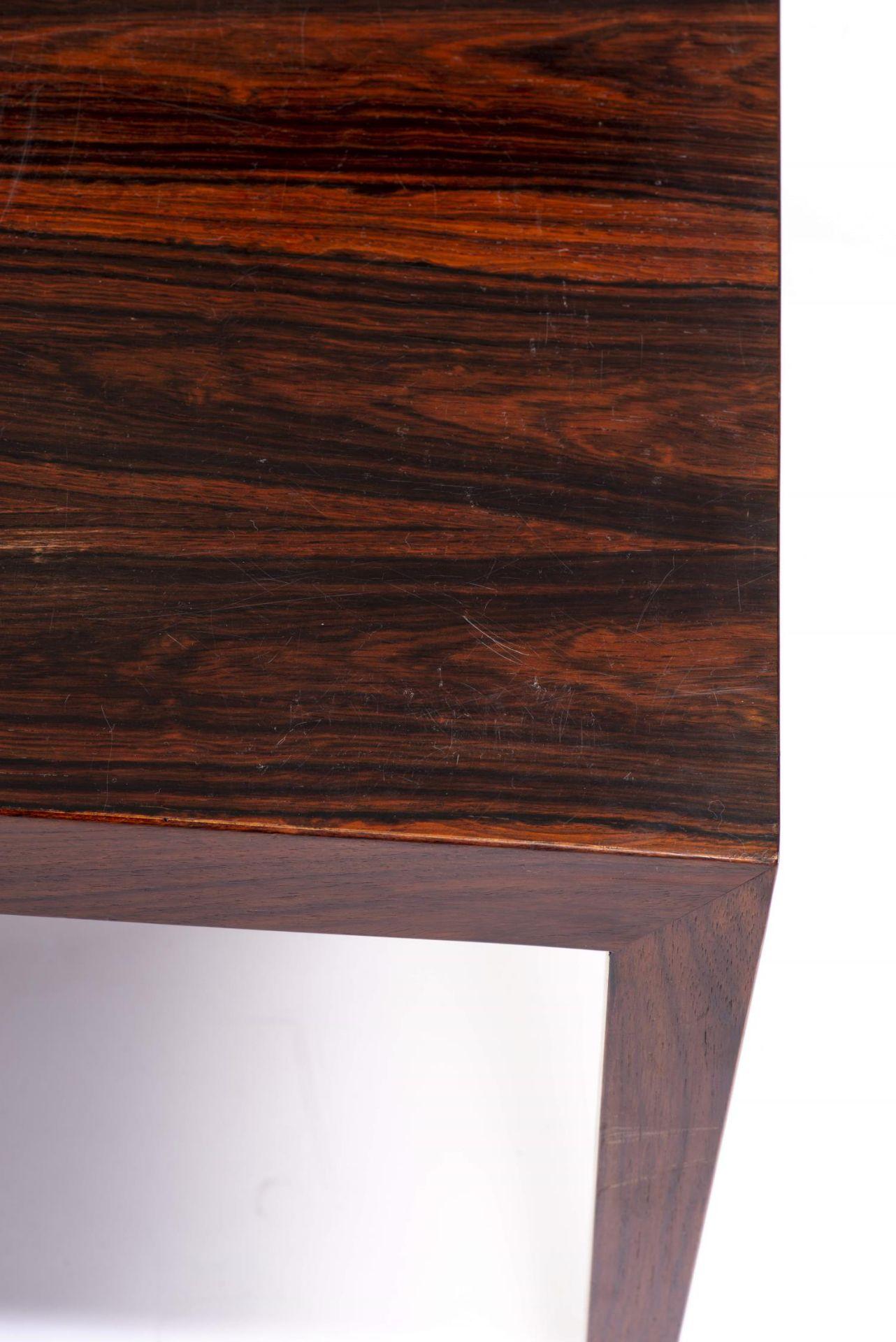 Table basse rectangulaire en teck par Fa. Ole Olsson & Son à Glostrup - Bild 4 aus 4