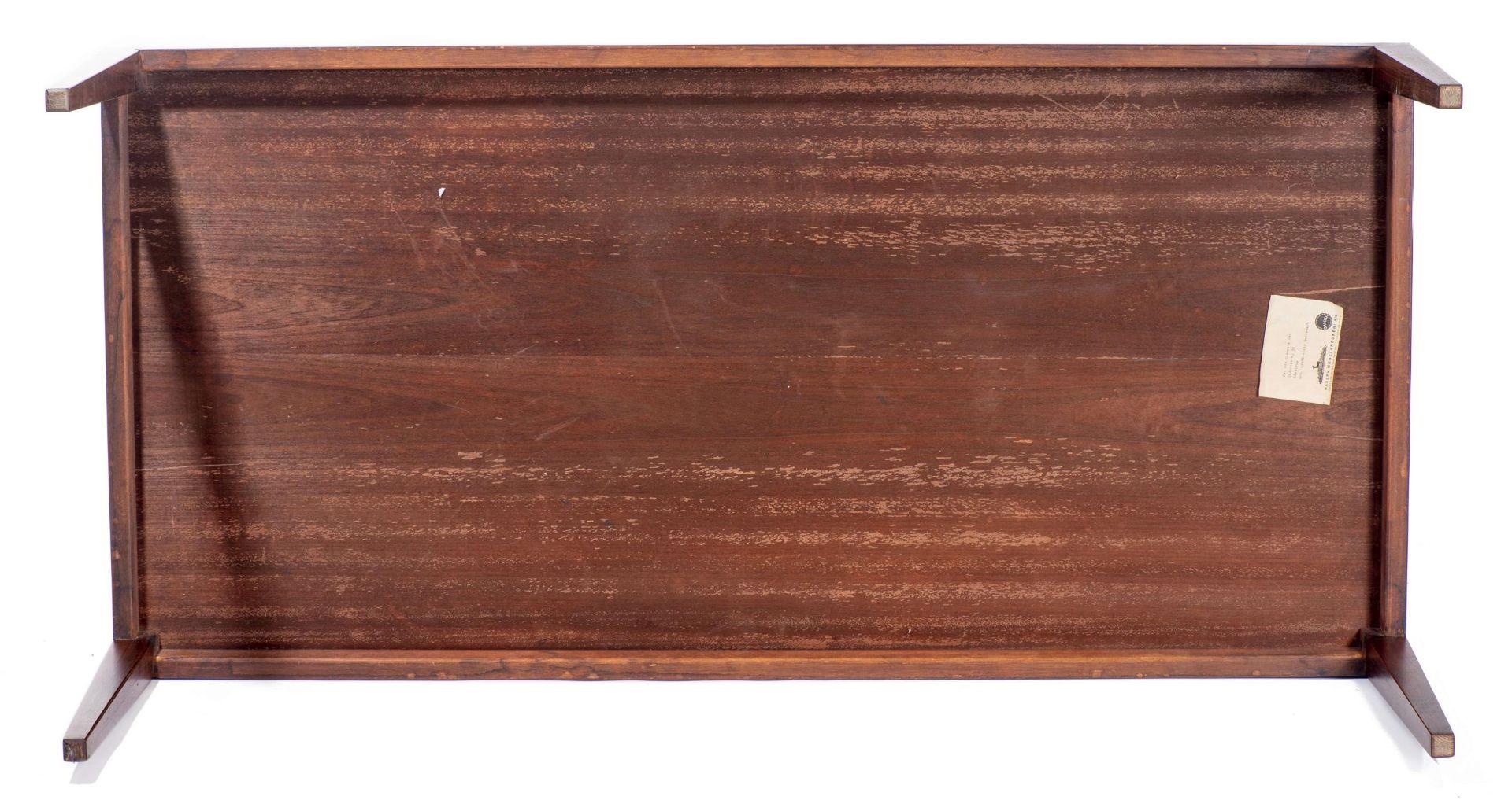 Table basse rectangulaire en teck par Fa. Ole Olsson & Son à Glostrup - Bild 2 aus 4