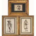 """Jacques Callot (1592-1635) d'après, """"L'homme au gros ventre"""" de la Suite des Gobbi, [...]"""