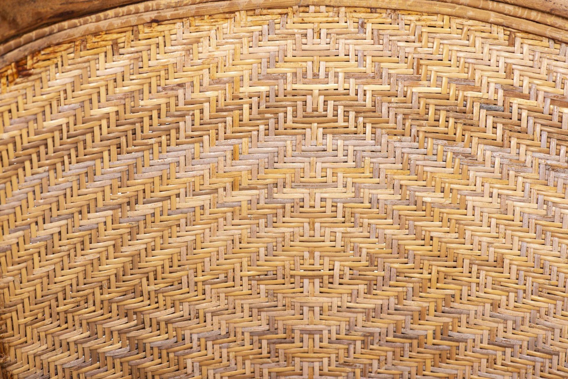 Deux fauteuils et une banquette balinais en Suar teck - Bild 15 aus 15