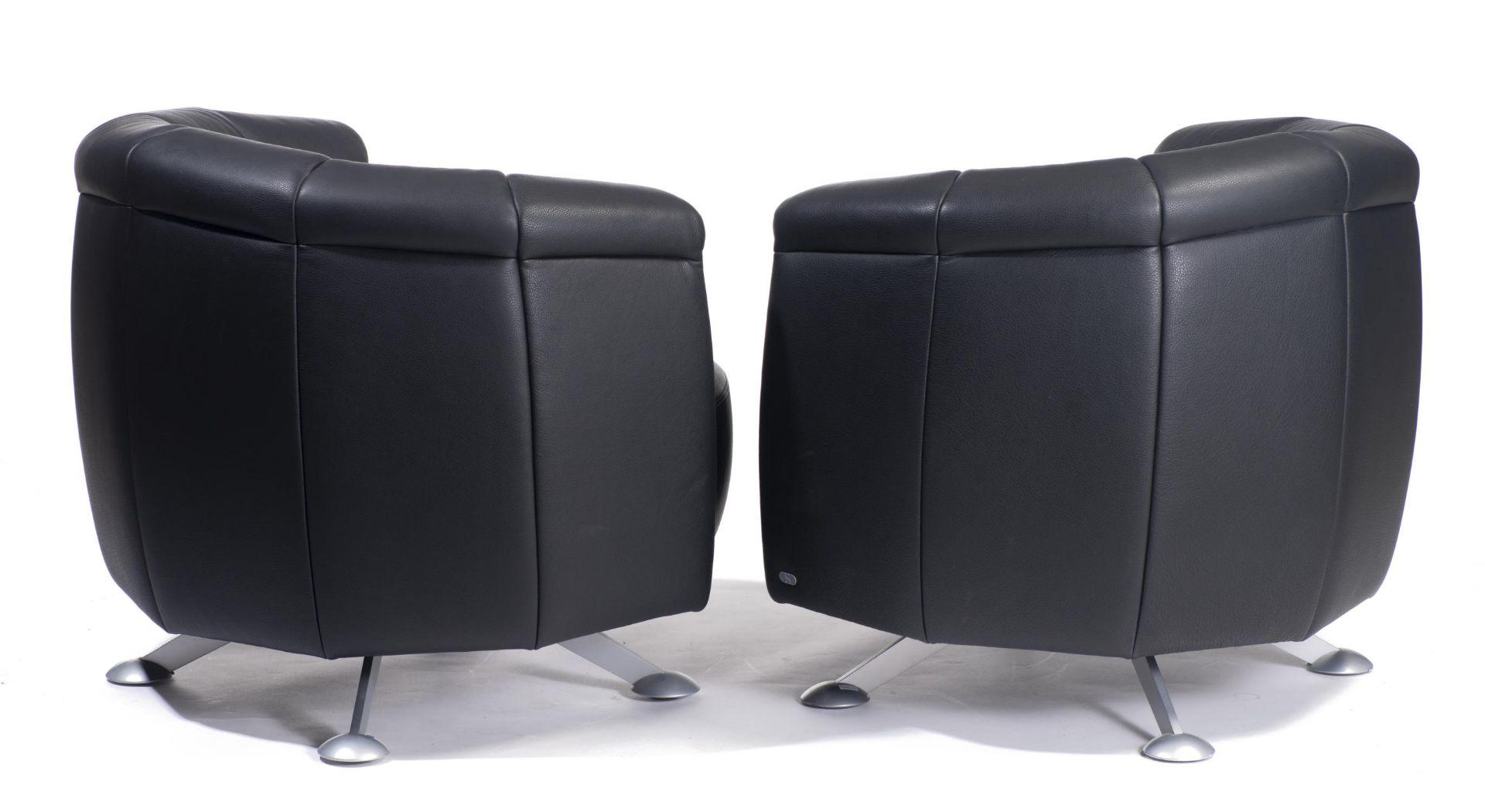 Hugo de Ruiter, deux fauteuils De Sède, modèle DS-164 - Bild 2 aus 3