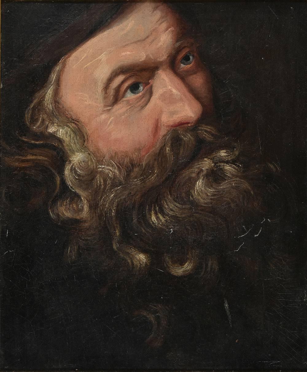 Lot 12 - *After William Dobson (1611-1646). Inigo Jones the celebrated architect, 1641, 19th century oil on