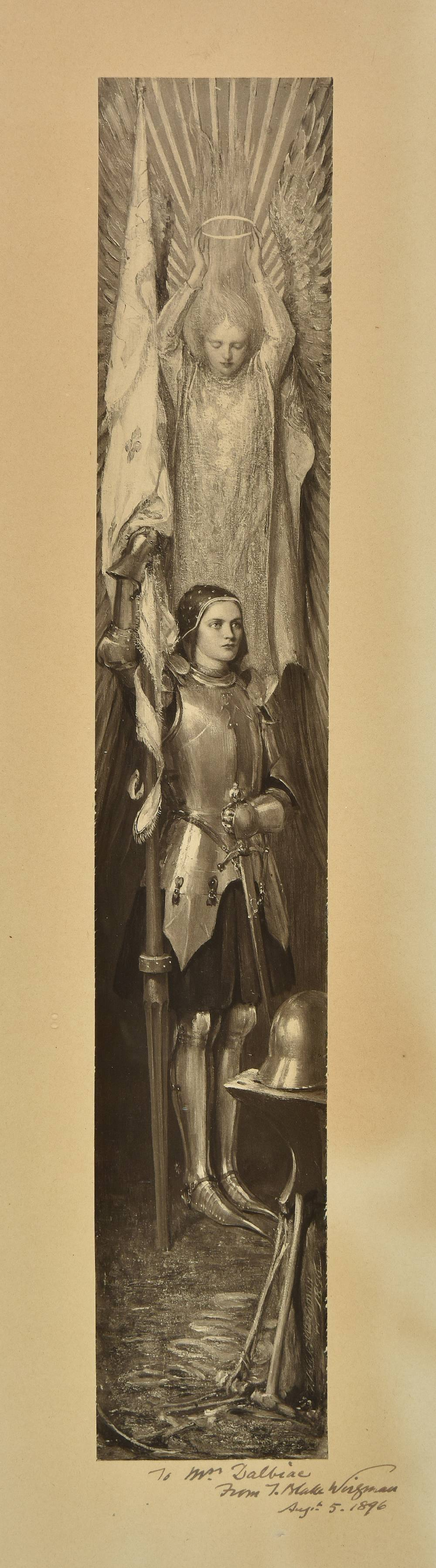 Lot 49 - *Wirgman (Theodore Blake, 1848-1925). Jeanne d'Arc, circa 1890s, photographic reproduction of the