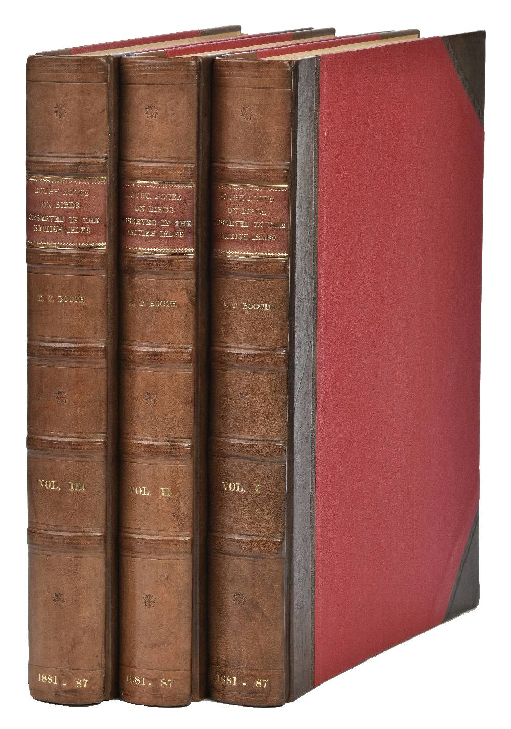 Lot 53 - Booth (Edward Thomas). Rough Notes on the Birds Observed during Twenty-Five Years' Shooting and