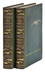 Lot 58 - Dawson (William Leon, & John Hooper Bowles). The Birds of Washington, Patrons' Edition [De Luxe],