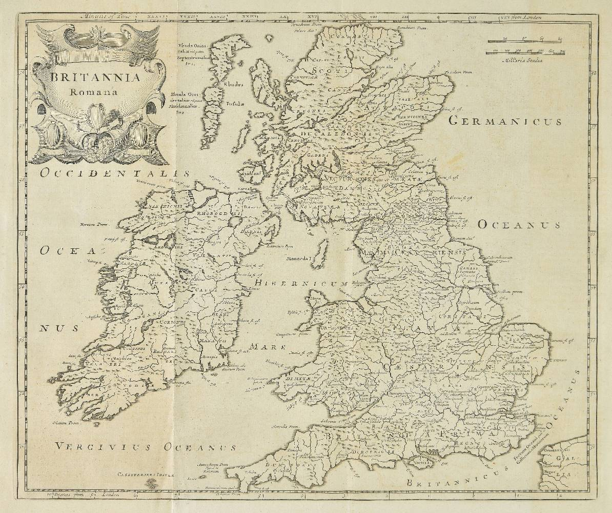 Lot 14 - Camden (William). Britannia: Or, a Chorographical Description of Great Britain and Ireland, together