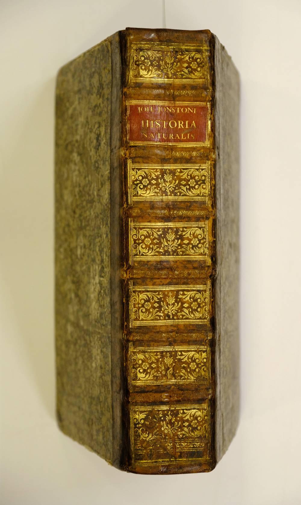 Lot 32 - Jonston (John). Historiae Naturalis de Quadrupedibus... de Serpentibus... de Insectis... de