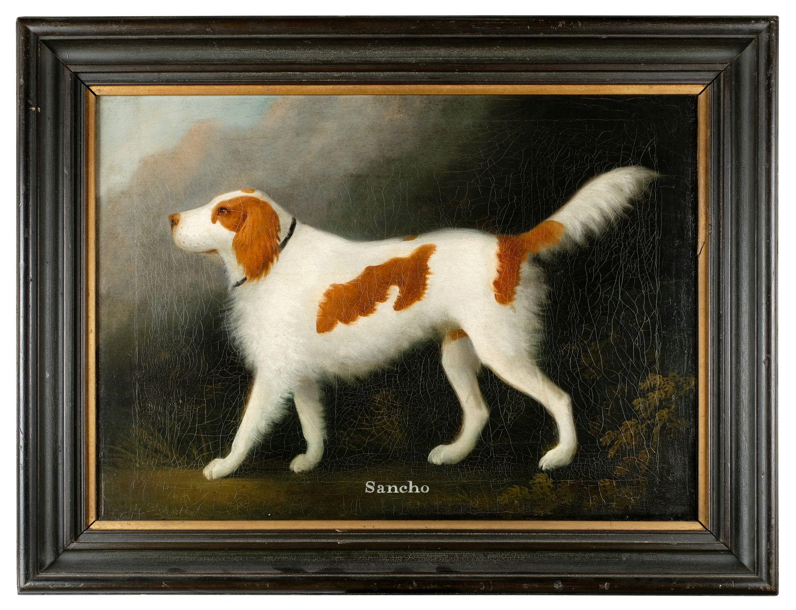 Lot 414 - * Clowes (Daniel, 1774-1829). Portrait of Sancho
