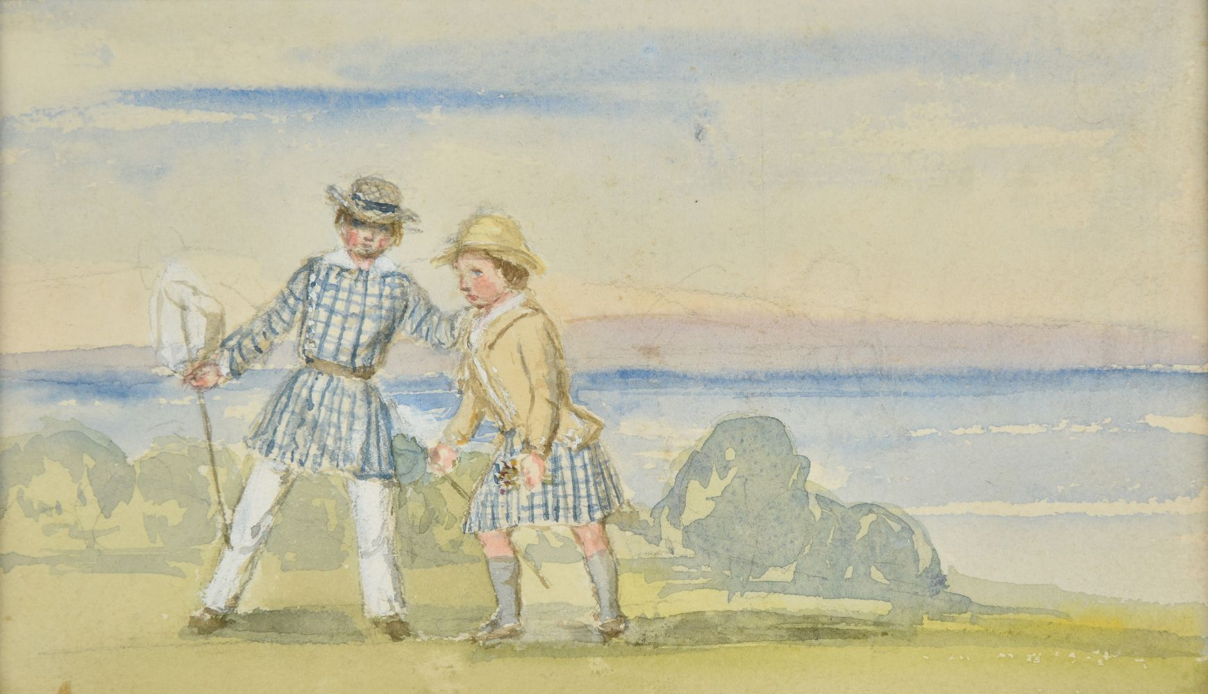Lot 296 - * Victoria (Queen of Great Britain, 1819-1901). Edward, Prince of Wales, and Prince Alfred