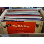 Lot 330 - A COLLECTION OF LP RECORDS to include, 'West Side Story'