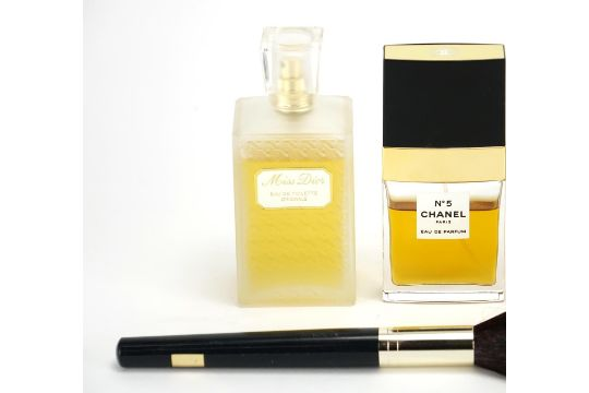 Perfume and make up, Miss Dior Eau De Toilette, Chanel No5 Eau De