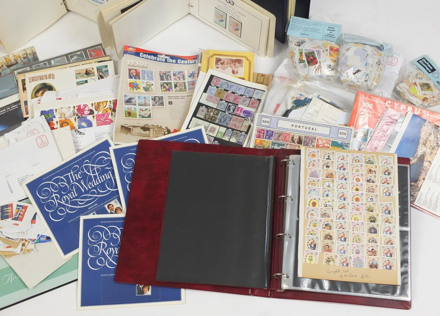Lot 1051 - World stamps and first day covers, mostly arranged in albums : For Further Condition Reports