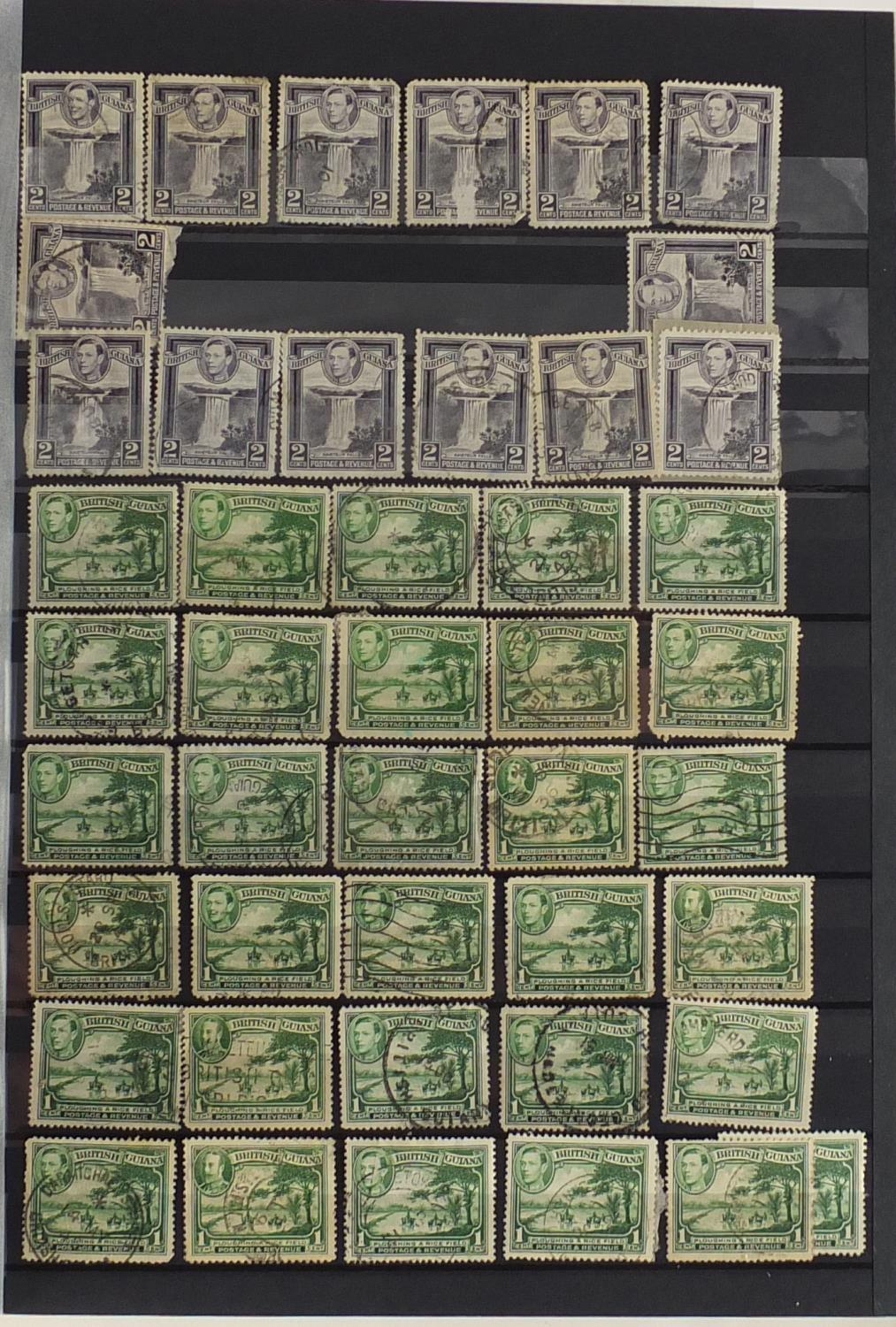 Lot 1066 - British and Commonwealth stamps arranged in an album, some mint unused : For Further Condition