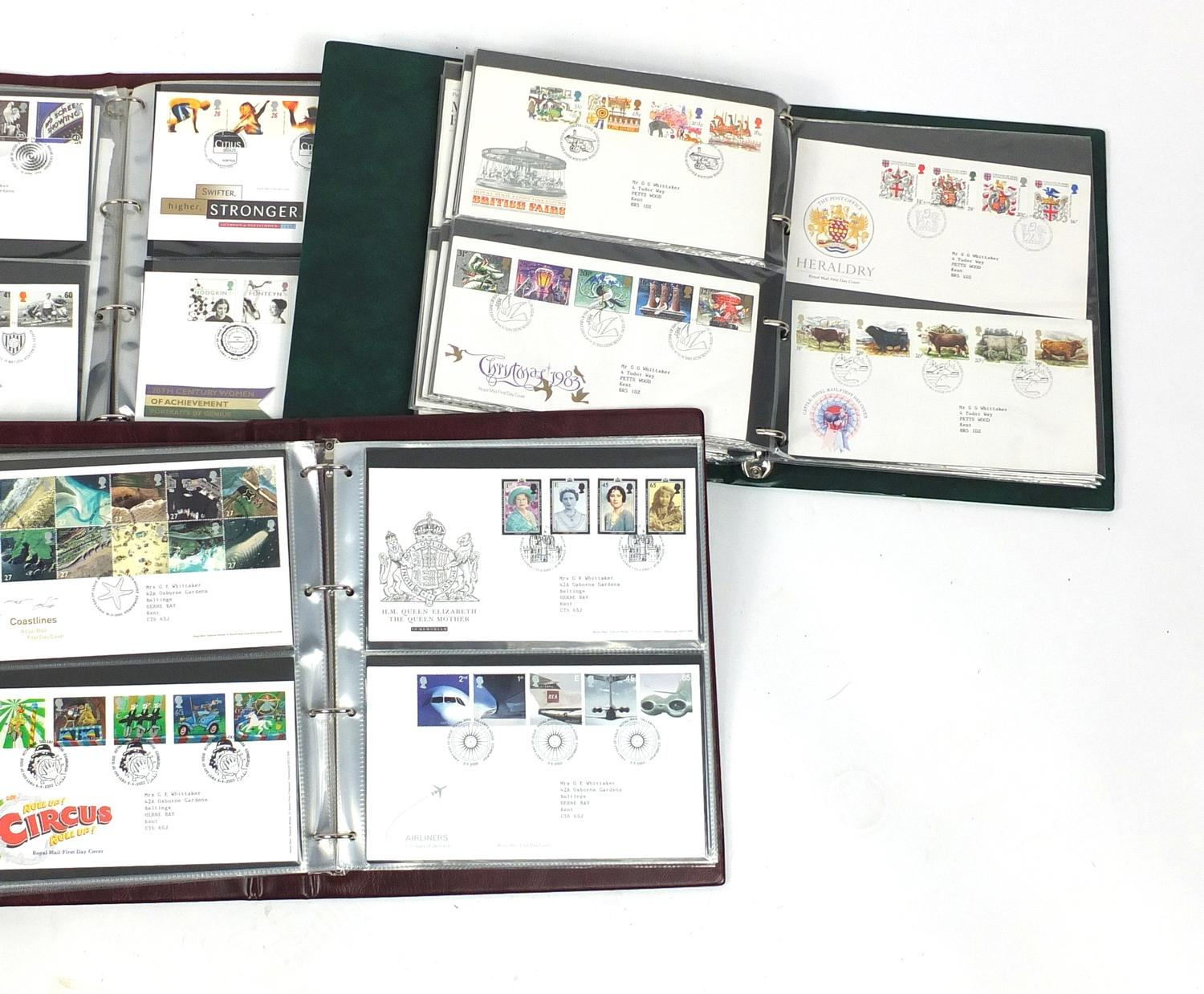 Lot 1068 - Five albums of first day covers : For Further Condition Reports Please visit our website - We update