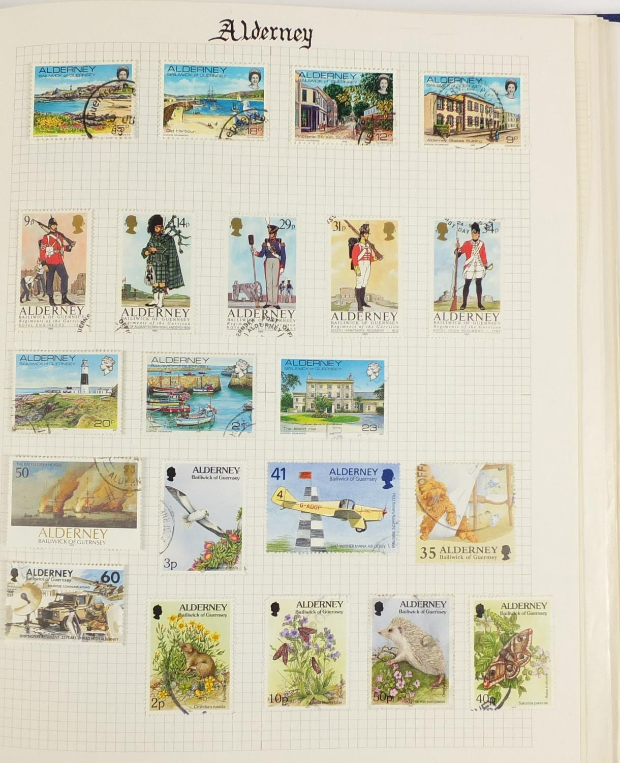 Lot 1045 - Isle of Man stamps including some mint arranged in an album : For Further Condition Reports Please