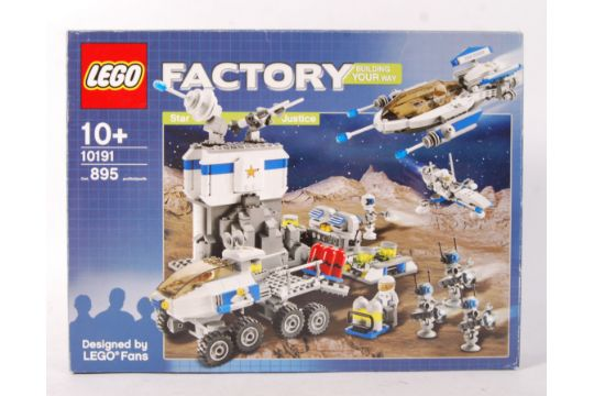 A Lego Factory boxed set No  10191 ' Star Justice '  Vendor