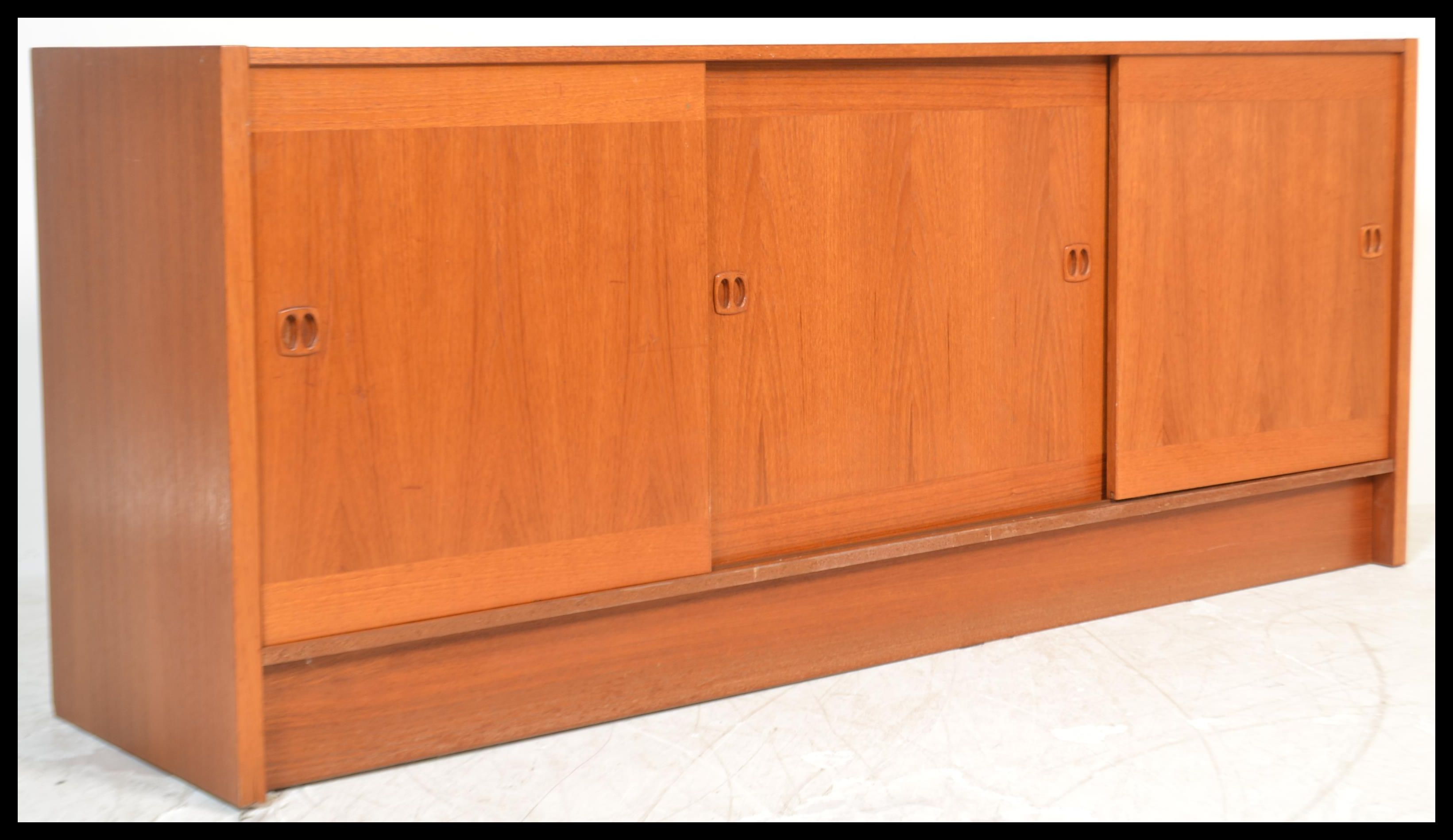 Danish Teak Credenza For Sale : A vintage th century danish teak wood sideboard credenza by