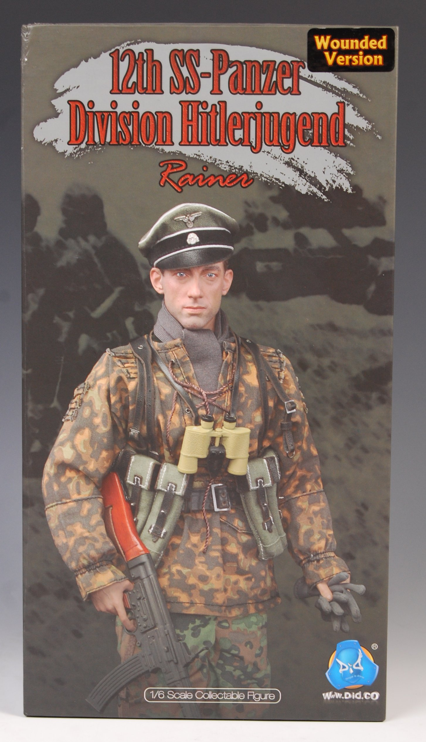 "DID German 12th Panzer Division /""Rainer/"" 1//6 Figure  normal//wounded versions"