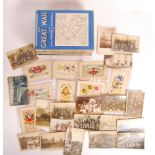 WWI FIRST WORLD WAR POSTCARD COLLECTION - FROM A SOLDIER