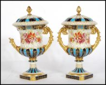 A pair of 19th Century Continentaltwin handled li
