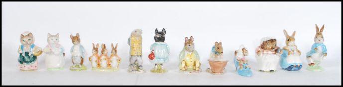 A collection of twelve Beswick Beatrix Potter cera