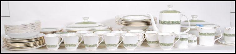A Royal Doulton Rondelay pattern dinner / tea serv