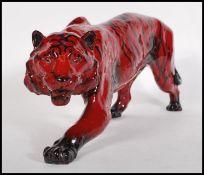 Tiger Stalking HN.1082 Royal Doulton Flambe model