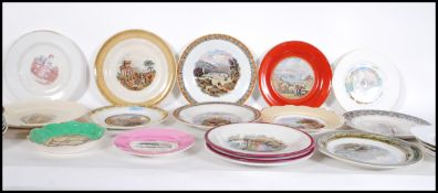 A large collection of Pratt / Prattware 19th and e
