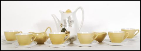 A mid 20th Century 1960's coffee service by Midwin