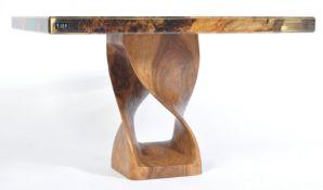 J & K TABLES FANTASTIC BESPOKE DESIGNER TREE AND LUCITE TABLE