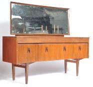 EON ELLIOTTS OF NEWBURY 1950'S ZEBRANO AND TEAK DRESSING TABLE