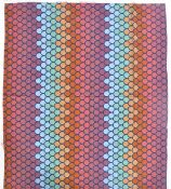 HEALS SIROCCO 1970'S SCREEN PRINTED FABRIC BY HUMPHREY SPENDER