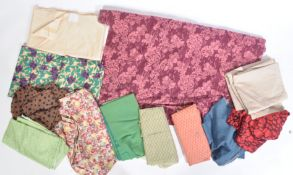 1950'S AND LATER PATTERNED TEXTILES UPHOLSTERY MATERIALS