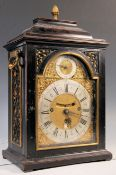 RARE CIRCA 1695 FRANCIS ROBINSON MANTEL CLOCK