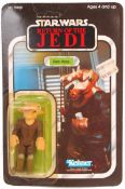 RARE VINTAGE STAR WARS MOC CARDED ACTION FIGURE - REE YEES