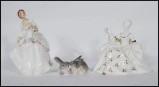 A collection of contemporary Royal Doulton Ladies