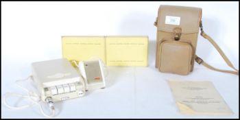 A vintage 20th Century Protona Minifon Attaché - C
