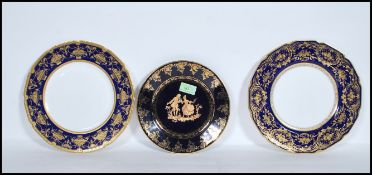 A pair of early / mid 20th Century Royal Doulton c