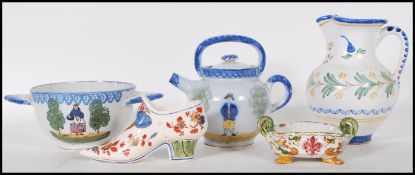 A collection of mixed 20th Century ceramics to inc