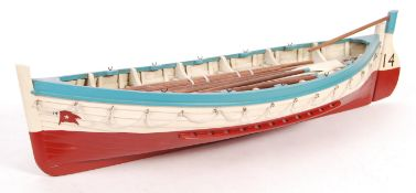 LARGE SCALE MUSEUM QUALITY WHITE STAR LINE MODEL LIFEBOAT